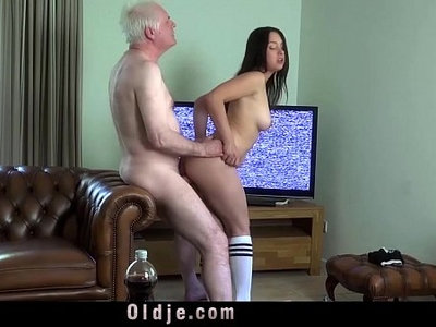 busty  cock  cum in mouth  fuck  hubby  old and young