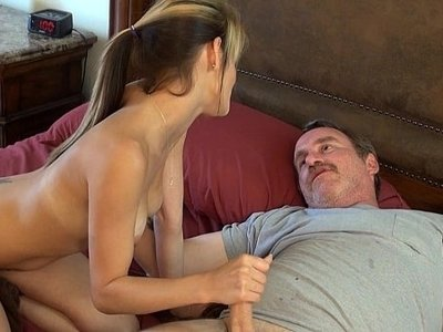 daddy  watching
