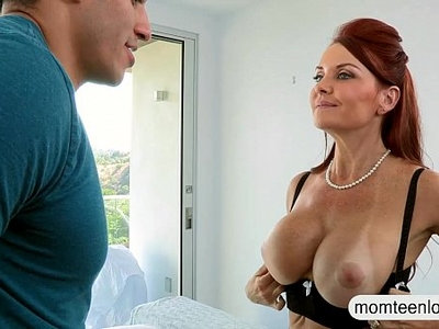 3some  busty  couple  stepmom  young