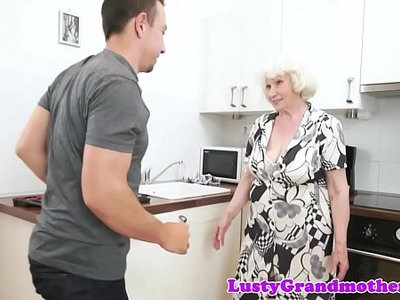 chubby  cock  granny  old and young